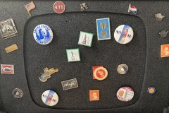 A plethora of philatelic pins - Do you have a favorite?