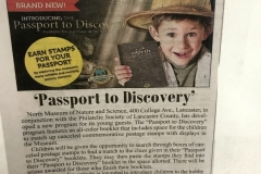 2019-04-25 Press Release in the Lititz Record on the Passport to Discovery and PSLC PArtnership