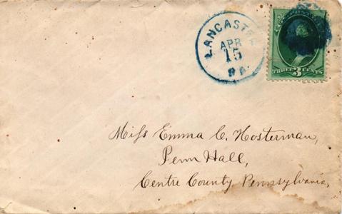 1880 Blue CDS to Penn hall