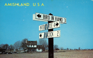 Amishland sign posts