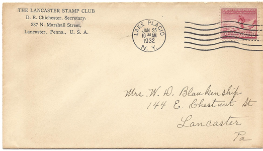 LSC Cover 1932-01-25