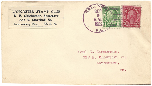 LSC Cover 1932-09-09