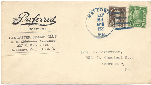 LSC Cover 1932-09-26