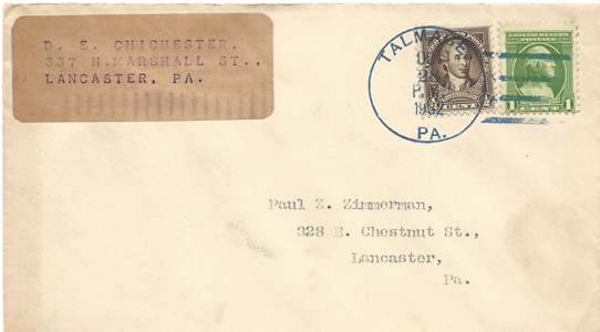LSC Cover 1932-10-28