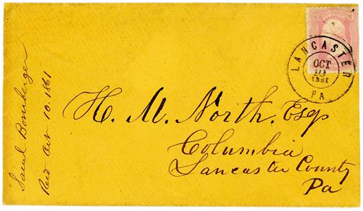 1861 #64 True Pink Lancaster