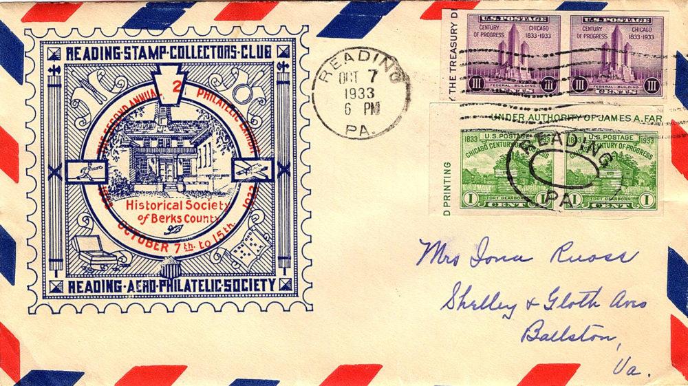 URSCC Show Cover 1933