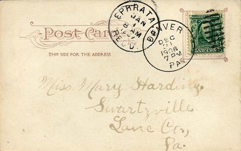 1906-1907 Ephrata Denver PC