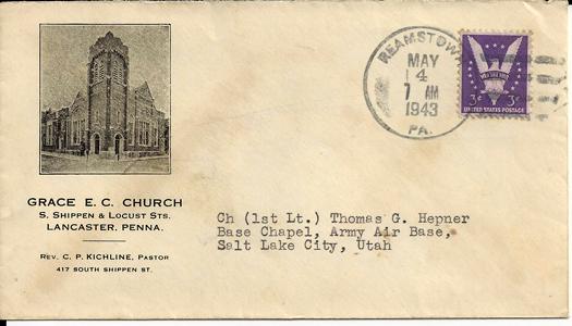 1943 Reamstown PA