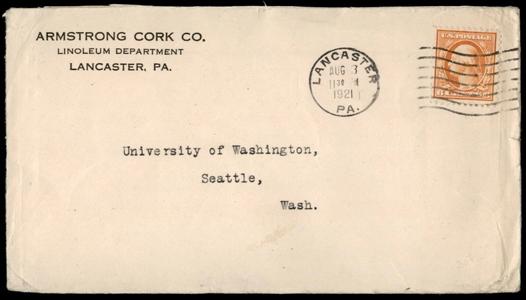 1921 Armstrong Cork Wash-Frank