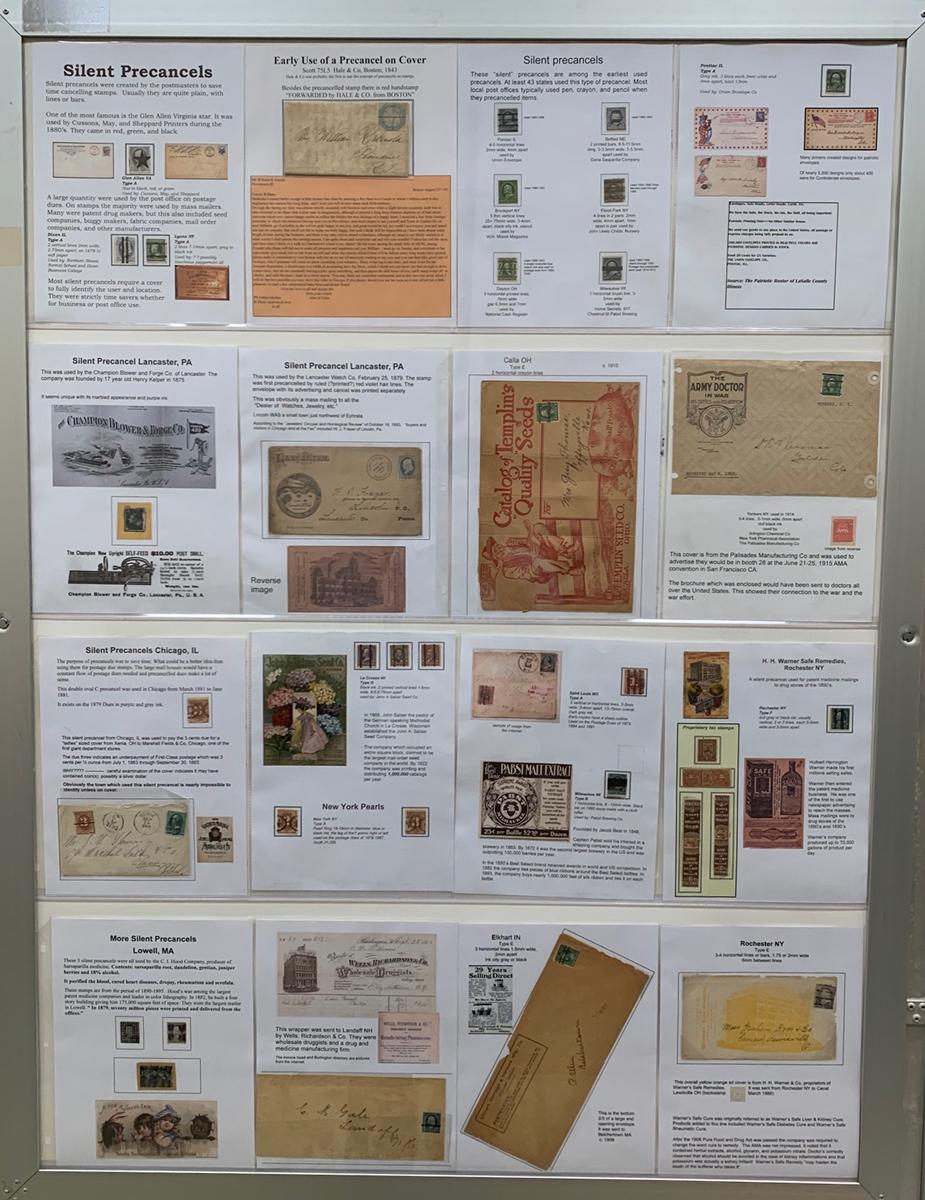 Silent Precancels U.S. Stamps Covers Postal History