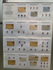 German Horseshoe Cancels Stamps Covers