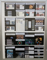 Space on Stamps Covers