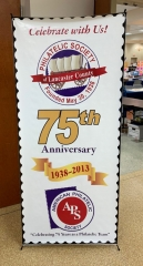 Lancopex 2019 Banner Show Floor Annual Meeting Philately Stamps