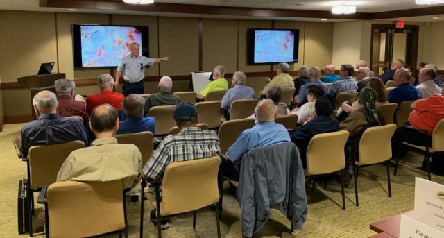 2019-05 Joe Sullivan Lecture, Meeting, Bourse, Door Prizes, 50-50, Auction-13