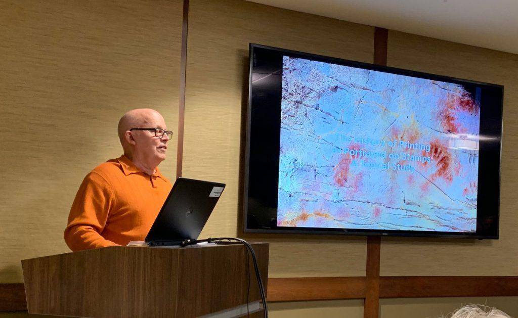 2019-05 Joe Sullivan Lecture, Meeting, Bourse, Door Prizes, 50-50, Auction-2