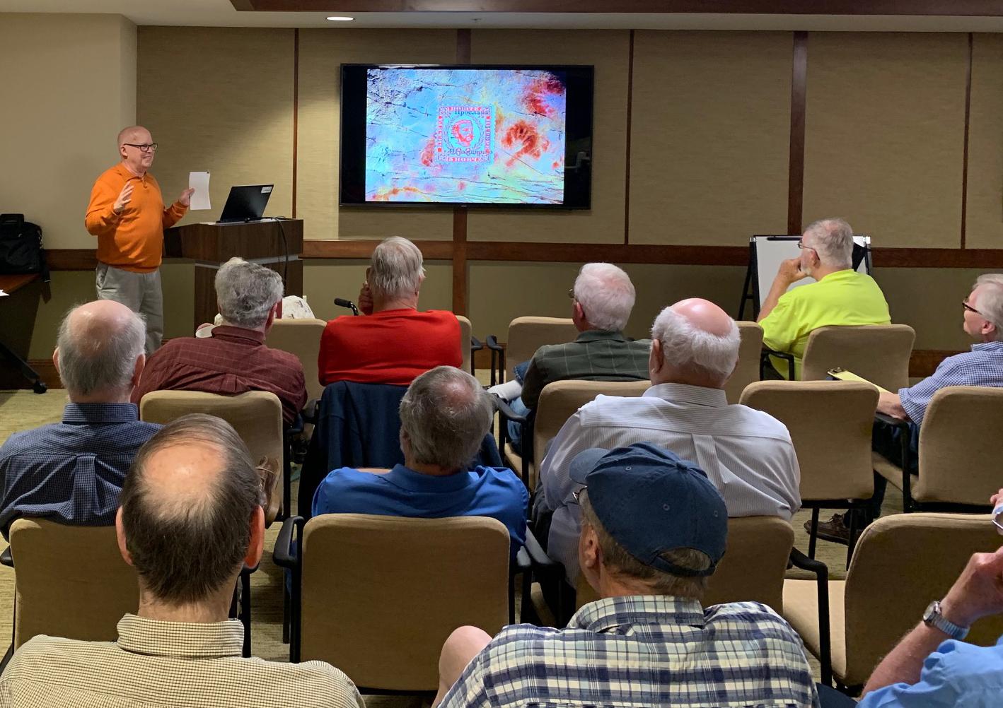 2019-05 Joe Sullivan Lecture, Meeting, Bourse, Door Prizes, 50-50, Auction-3