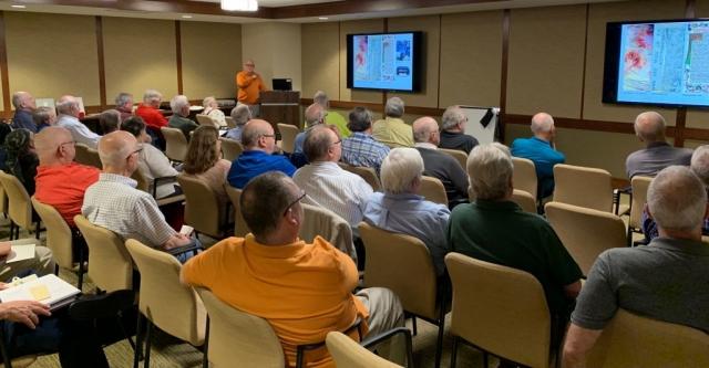 2019-05 Joe Sullivan Lecture, Meeting, Bourse, Door Prizes, 50-50, Auction-6