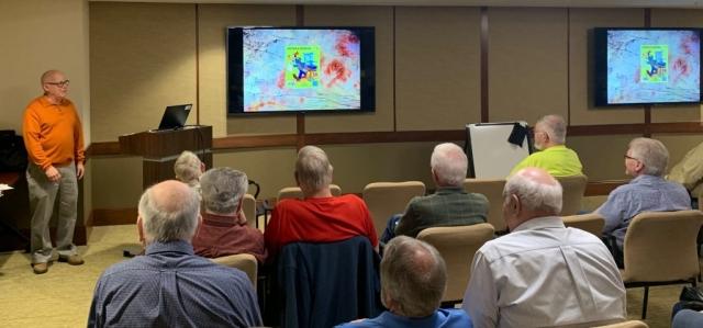 2019-05 Joe Sullivan Lecture, Meeting, Bourse, Door Prizes, 50-50, Auction-9