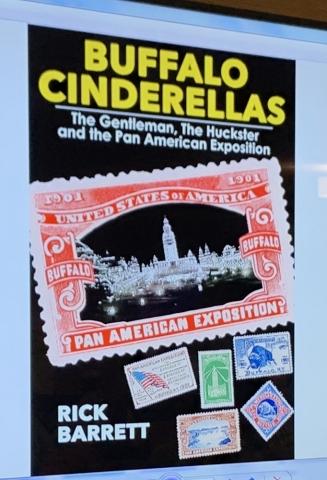 Barrett Buffalo Cinderellas Pan American Expo PSLC Stamps Postal History
