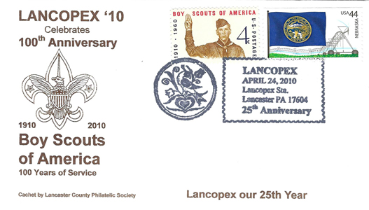 2010 LANCOPEX cachet BSA100 24-APR