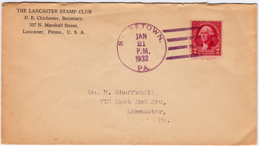 LSC Cover 1931-01-21-F