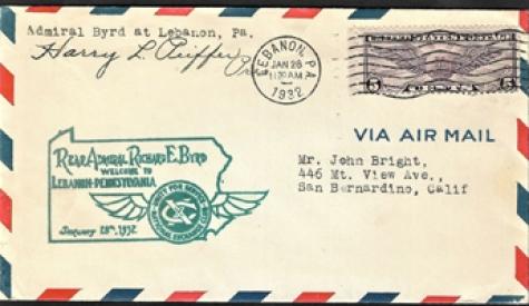 Lebanon PH-10 1932 Admiral Byrd PA