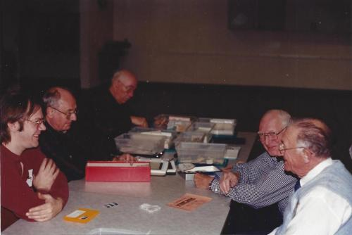 From L->R: Mike Shirley, Gil Slotter, Walter Mereau, Ben Heller, and Mark King.