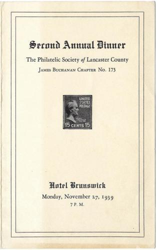 1939 PSLC 2nd Annual Dinner-1