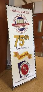 PSLC 75th Anniversary Banner