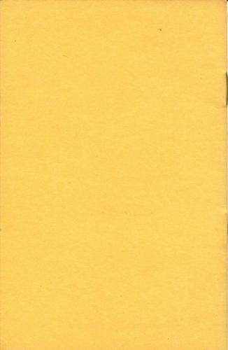 PSLC Revised By-Laws 1962 Cover Back