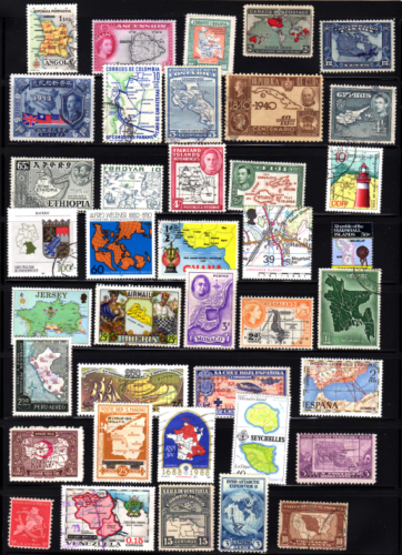 Maps on Stamps, Dr. Paul Petersen